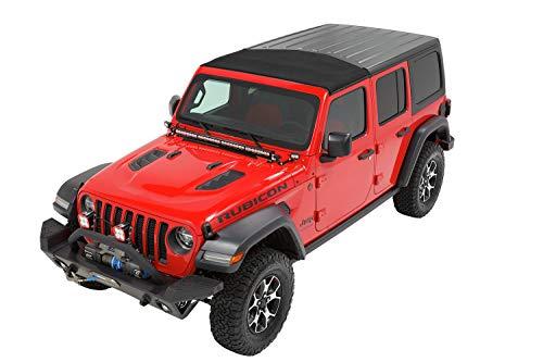 Bestop 5245417 Black Twill Sunrider for Hardtop 2018-Current Jeep Wrangler JL & 2020 Jeep Gladiator
