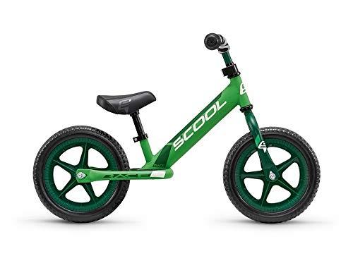 S'Cool pedeX Race Kinder Laufrad (One Size, Lemon/Green matt)