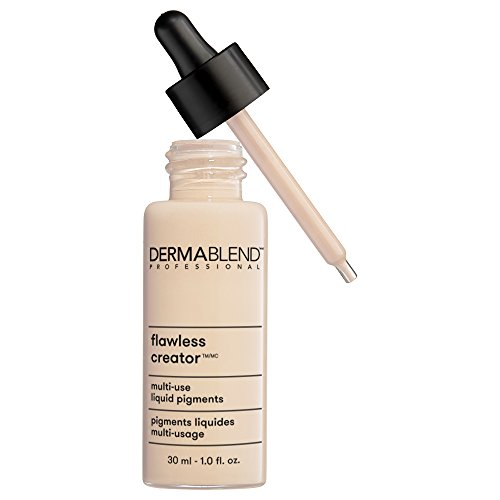 Dermablend Flawless Creator Multi-Use Liquid Foundation Makeup, 0N, 1 Fl Oz
