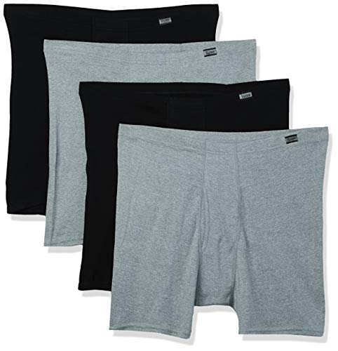 Hanes Men#039s 4Pack Comfortsoft Extended Sizes Boxer Briefs Assorted 3XLarge