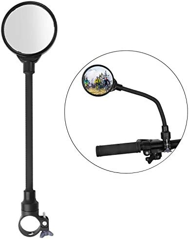 Bicycle Mirror 360 Rotatable and Adjustable Wide angle Cycling Rear View Mirror Shockproof Convex product image