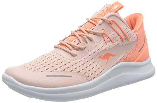 KangaROOS Kg-deft Zapatillas Mujer, Multicolor (Frost Pink/Coral 6188), 38 EU