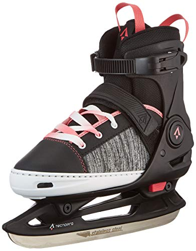 Tecnopro Unisex-Kinder Alpha Soft 2.0 Feldhockeyschuhe, Schwarz (Black/Pink 901), 33 EU