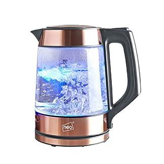 Neo-Kabellos-Nordisch-Beleuchtet-Glas-Wasserkocher