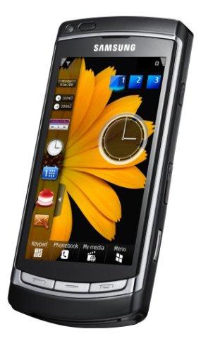 Samsung I8910 HD 8 GB Smartphone (8 MP-Kamera, 3,7'' AMOLED Touchscreen, WLAN, Navi) schwarz Silber