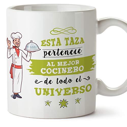 MUGFFINS Taza Cocinero (Mejor del Universo) - Regalos Originales y Divertidos de Cocina