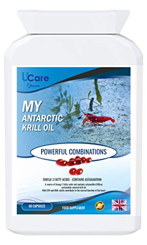 My Antarctic Krill Oil // A Source of Omega 3 and astaxanthin