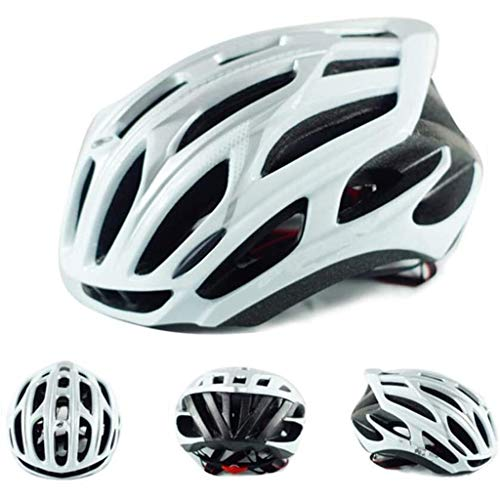 DINGL Casco da Bicicletta Insetto Rete Stradale in Mountain Bike Bicicletta Casco Leggero Uomini e Le Donne in Bicicletta Vents Casco Leggero Casco for Adulti 529 (Color : A, Size : L(56-63cm))