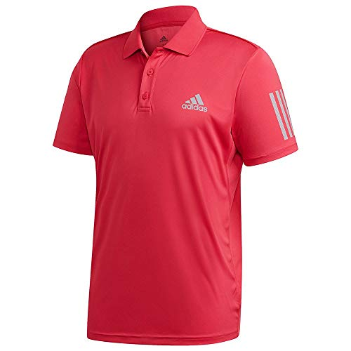 adidas Club Polo 3Str Maillot Manches Courtes Homme, Powpnk, FR : S (Taille Fabricant : S)