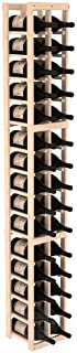 Wine Racks America Pine 2 Column Magnum/Champagne Kit. Unstained