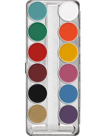 Supracolor Schminkpalette 12 Farben - FP
