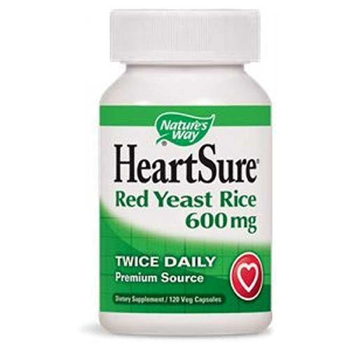 NATURE'S WAY HeartSure Red Yeast Rice + CoQ10 120 VEGICAPS
