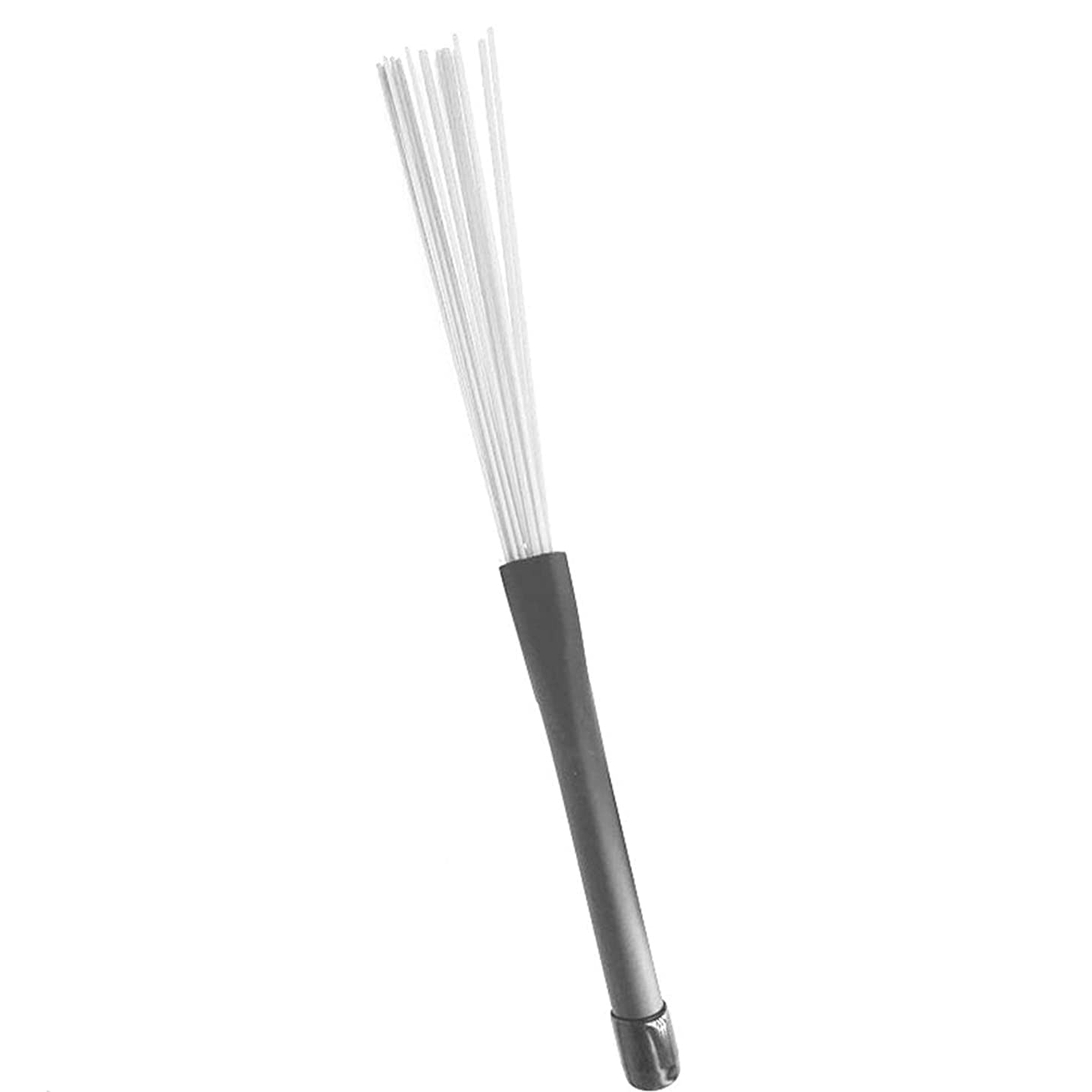 eroute66 Lightweight Nylon Drumsticks Drum Sticks Music Accessory Part for Drummer A Pair of Drum Brushes White