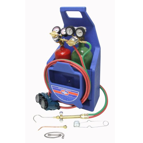 For Sale! Uniweld K22P Cap n Hook Braze and Weld Outfit with 511 Plastic Carrying Stand