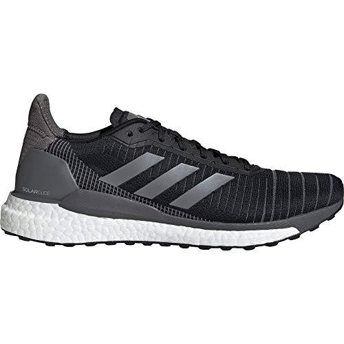 Adidas Solar Glide 19 M, Zapatillas de Running para Hombre, Negro (Negbás/Gricin/Ftwbla 000), 42 EU