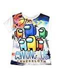 Among Us Camiseta de Manga Corta para niño, Huevo 8