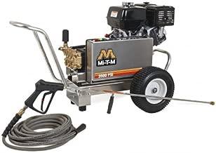 Mi-T-M CBA-3504-1MGH CBA, Aluminum Series Cold Water Belt Drive, 389cc Honda OHV Gasoline Engine, 3500 PSI Pressure Washer