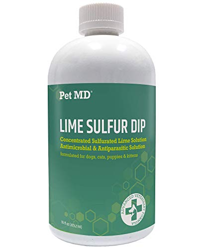 Pet MD Lime Sulfur Dip for Cats