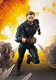 Avengers: Infinity War Captain America & Tamashii Effect Explosion,Bandai S.H.Figuarts