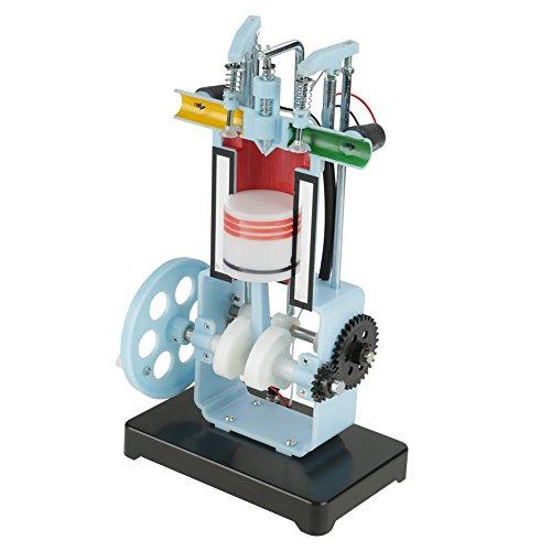 Física Mecánica Experimento Instrumento Didáctico Diesel Modelo de Motor de Combustión Interna de 4 Tiempos Demostrar el Principio de Funcionamiento
