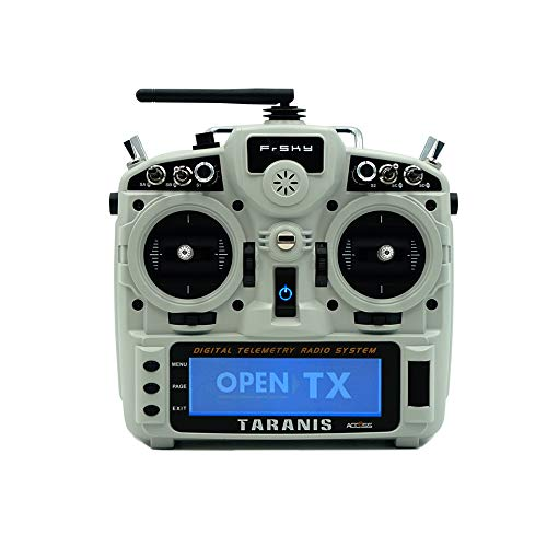 FrSky Taranis X9DP 2019 Access/ACCST D16 Transmitters 24 Channels with a High-Speed Module Gigital Interface (Ash White)