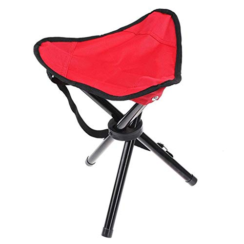 Portable Folding Tripod Chair Color Random