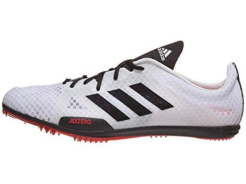 adidas Adizero Ambition 4 Spike Schuh Damen Track Field Weiß, (White-core Black-shock Rot), 42 EU