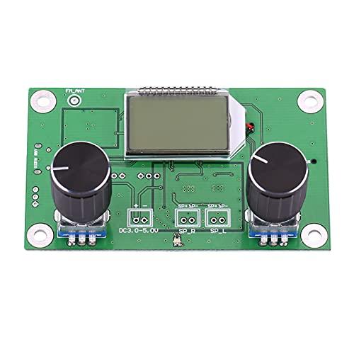 Módulo receptor inalámbrico, módulo receptor de radio FM Módulo de radio estéreo FM Módulo de radio FM digital DSP y PLL para DIY Arduino