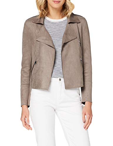 Cartoon Damen 4001/7509 Lässiger Blazer, Earth Grey, 40