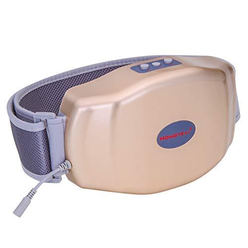 YUXINCAI Bauchmassagegerät Mit Bauchheizung Gastrointestinaler Auswurf Peristaltische Aufblähung Artefakt Physiotherapie Gerät Instrument,Gold,26x16.5x5.5cm