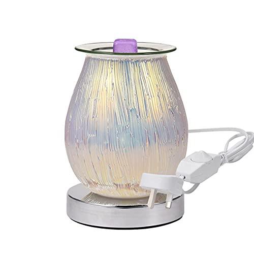 Winnie Quemador de incienso a fusión de cera eléctrica Aroma 3D Touch Lámpara para fuegos artificiales, luz nocturna para crostata, difusor de aromaterapia, calentador de cera