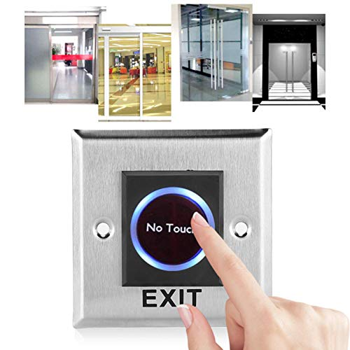Interruptor de Apertura de Puerta, Sistema de Control de Acceso Aspecto práctico y Elegante Oficinas Edificios públicos Asistencia para hogares Apartamentos Sistemas de Control de Acceso