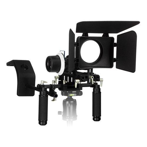 WonderRig Elite by Fotodiox - Premium Grade Professional Video Rig Shoulder Support Stabilizer