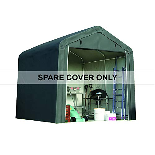 Garden Gear 8 x 8ft Spare PE Cover for Portable Shed with Apex Roof (No Frame Included)