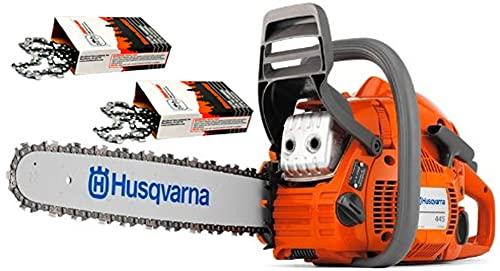 Husqvarna 445e-Series II (50cc) Cutting Kit Includes Chainsaw, 18