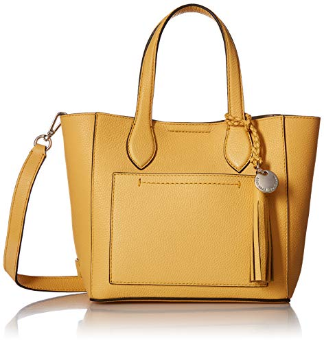 Cole Haan Piper Mini Tote Leather Crossbody, sunset gold