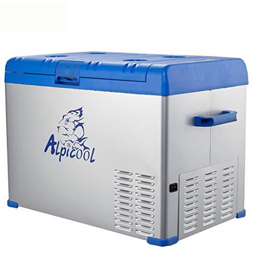 Jcoco Draagbare compressor voor in de auto, voor in de koelkast of in de vriezer, 12 V/24 V/220 V 40L