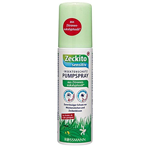 Zeckito sensitiv Insektenschutz Pumpspray 100 ml
