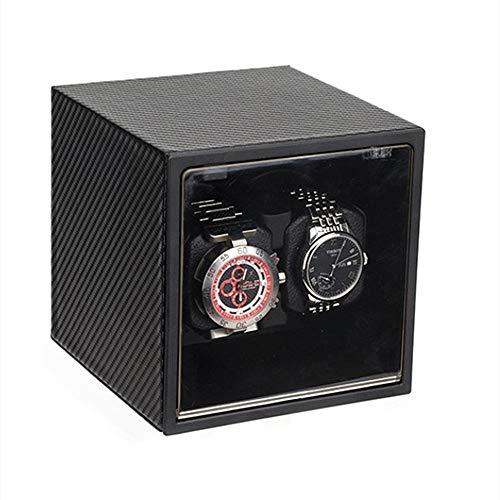 Zhicaikeji Reloj de pulsera automático con mecanismo de rotación mecánico y silencioso para 2 relojes mecánicos (color A3, tamaño: talla única)