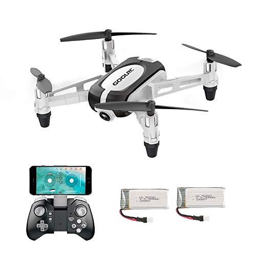 GoolRC T700 Drone 720P WiFi FPV Mini Selfie Droni G-Sensor Altitude Hold RC Training Quadcopter w   2 Batteria per Principianti Bambini