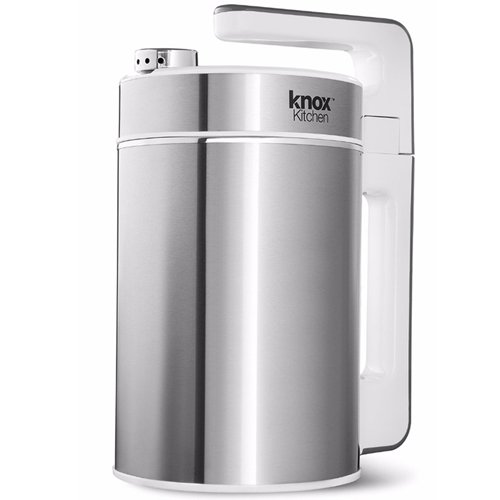 Knox KN-SMM01 Automatic Hot Soy (Almond, Rice, Cashew) Milk & Soup Maker (Stainless Steel), Easy Self Cleaning, 1.5 Liter