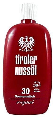 Tiroler Nussöl Sonnenmilch original wasserfest LSF 30, 1er Pack (1 x 150 ml)