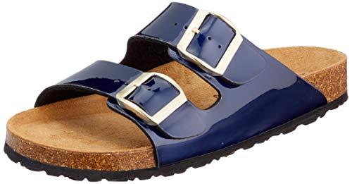 Tamaris Damen 1-1-27503-24 Pantoletten, Blau (Liquid Blue 892), 41 EU