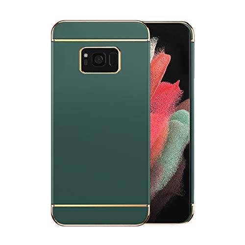 Funda Samsung Galaxy S8 5g Case,Fundas Samsung S8 Antigolpes Carcasa Diseño Minimalista Estuche Rígido Ultra Original Delgado de PC a Prueba (Samsung Galaxy S8, Verde Oscuro)