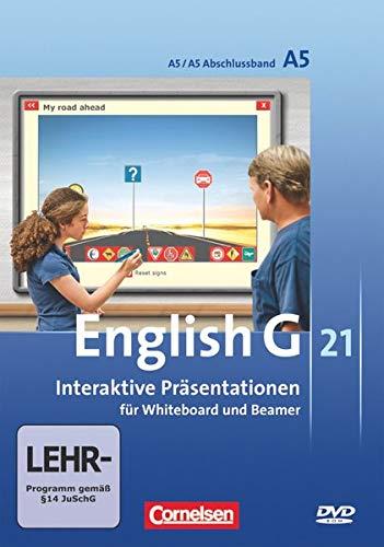 English G 21 - Digital Teaching Aids - Interaktive Präsentationen für Whiteboard und Beamer - Ausgabe A: Band 5/Abschlussband 5: 9. Schuljahr - ... für Whiteboard und Beamer - Ausgabe A)