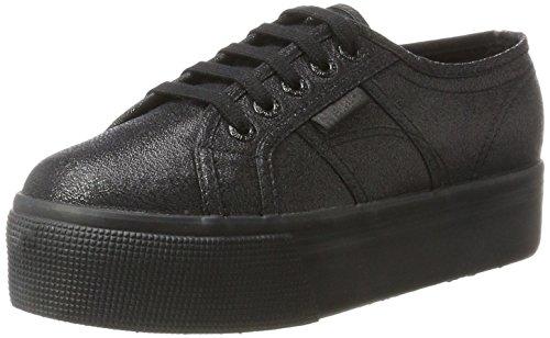 Superga Damen 2790-lamew Sneaker, Schwarz (Total Black 912), 40 EU