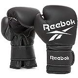 【Amazon.co.jp 限定】リーボック(Reebok) ボクシング ボクシンググローブ 【 ブラック】 14オンス TKS91RB015 14 oz