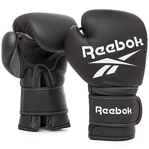 【Amazon.co.jp 限定】リーボック(Reebok) ボクシング ボクシンググローブ 【 ブラック】 12オンス TKS91RB014 12 oz