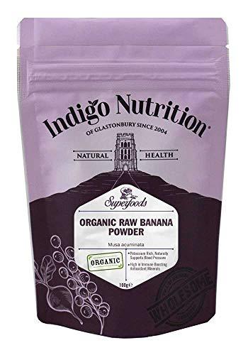 Indigo Herbs Bio Roh Bananenpulver 250g