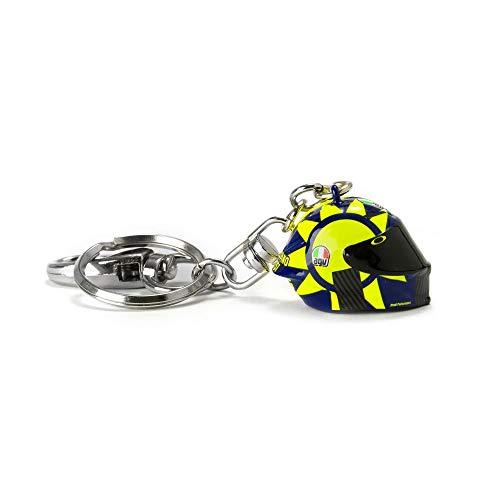 pequeño y compacto VR46 Valentino Rossi 3D Casco Llavero 2019